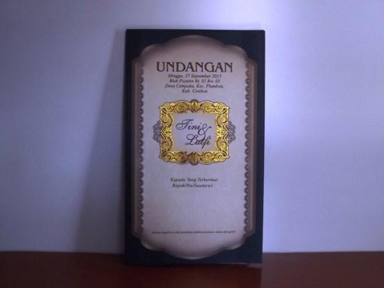 Bisnis Percetakan Desain Undangan - Katalog Undangan Pernikahan President Card Album Seri 3 -DSCF2098