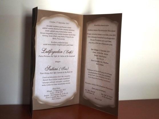 Bisnis Percetakan Desain Undangan - Katalog Undangan Pernikahan President Card Album Seri 3 -DSCF2099