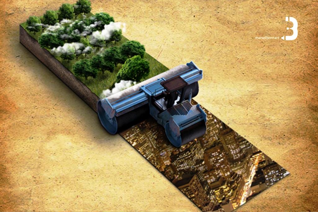 33 Contoh Poster Adiwiyata Go Green Lingkungan Hidup Hijau - Poster-Go-Green