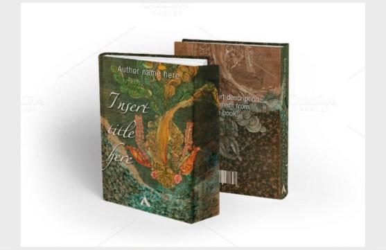 Contoh dan Template Desain Kover Buku Download PSD 04
