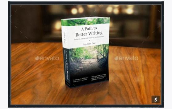 Contoh dan Template Desain Kover Buku Download PSD 06
