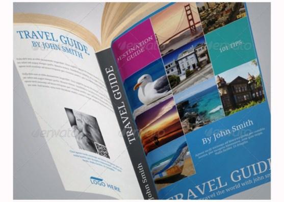 Contoh dan Template Desain Kover Buku Download PSD 19