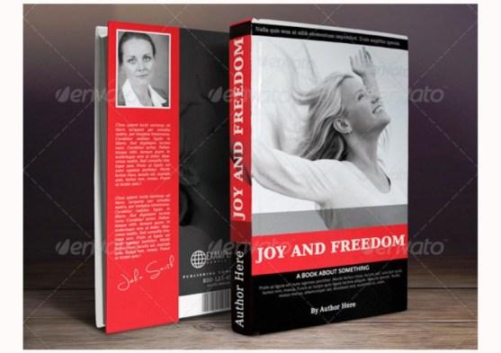 Contoh dan Template Desain Kover Buku Download PSD 23