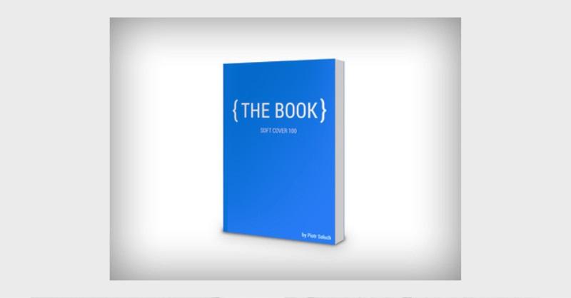 Contoh dan template desain kover Buku Download PSD