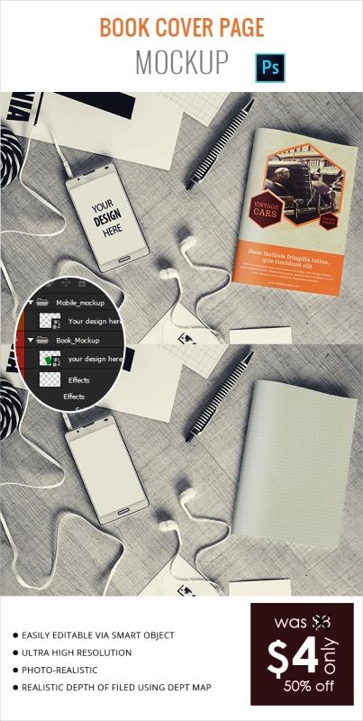 Contoh dan Template Desain Kover Buku Download PSD 47