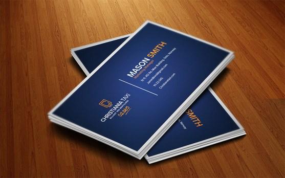 Desain Kartu Nama Bisnis Taksi - Kartu Nama Taxi - Business Card Design