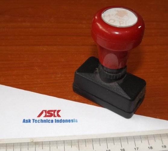 Stempel Otomatis Multi Warna Produk Percetakan Ayu Karawang - Stempel Otomatis DSCF2389