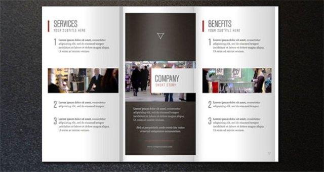 Brosur perusahaan untuk company profile