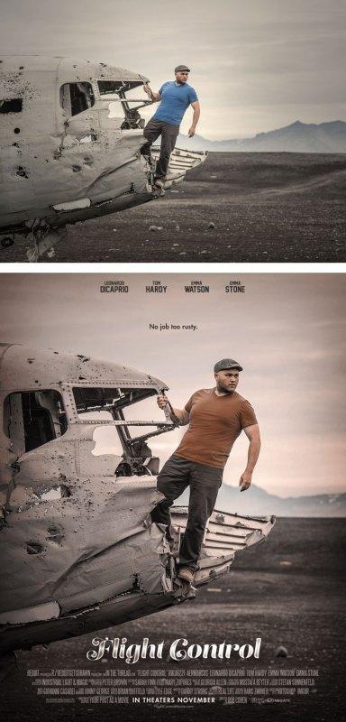 Desain Poster Film dari Foto Biasa 59