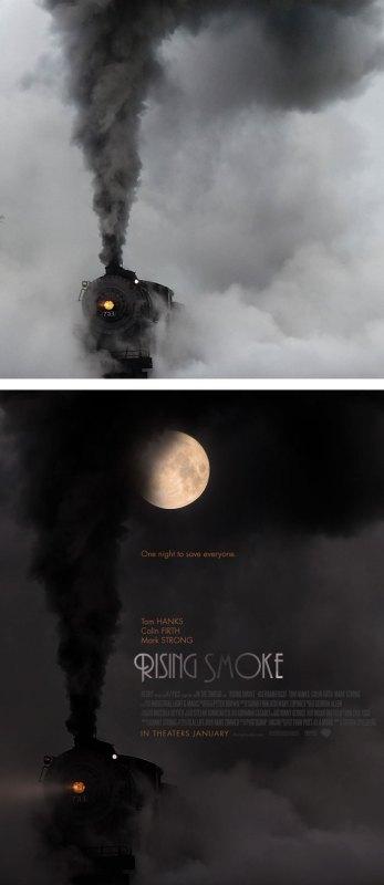 Desain Poster Film dari Foto Biasa 65