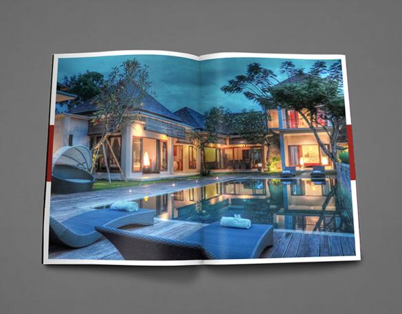 Contoh Desain Brosur Real Estate