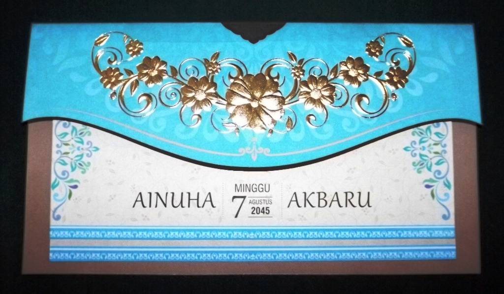 Undangan Nikah Blangko Wedding Invitation Indonesia