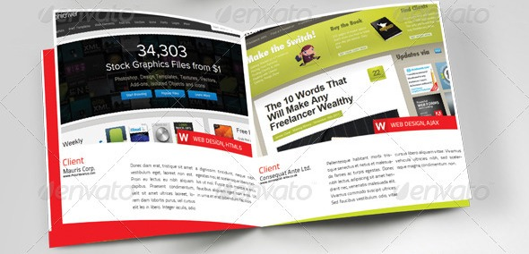 23 Desain Booklet Template Premium Download