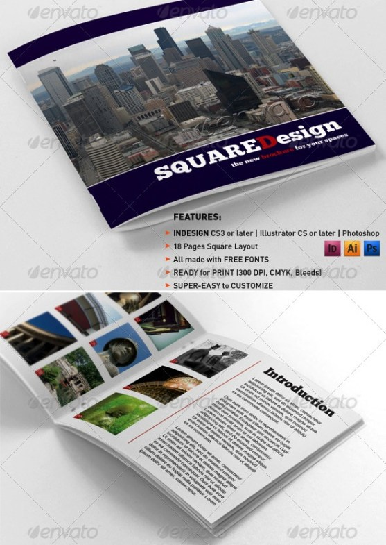 Desain Booklet Template Premium Download
