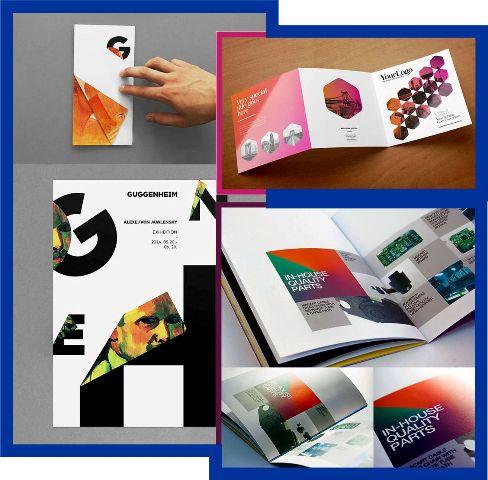 40 Contoh Inspirasi Desain Brosur Ide Template Free Download