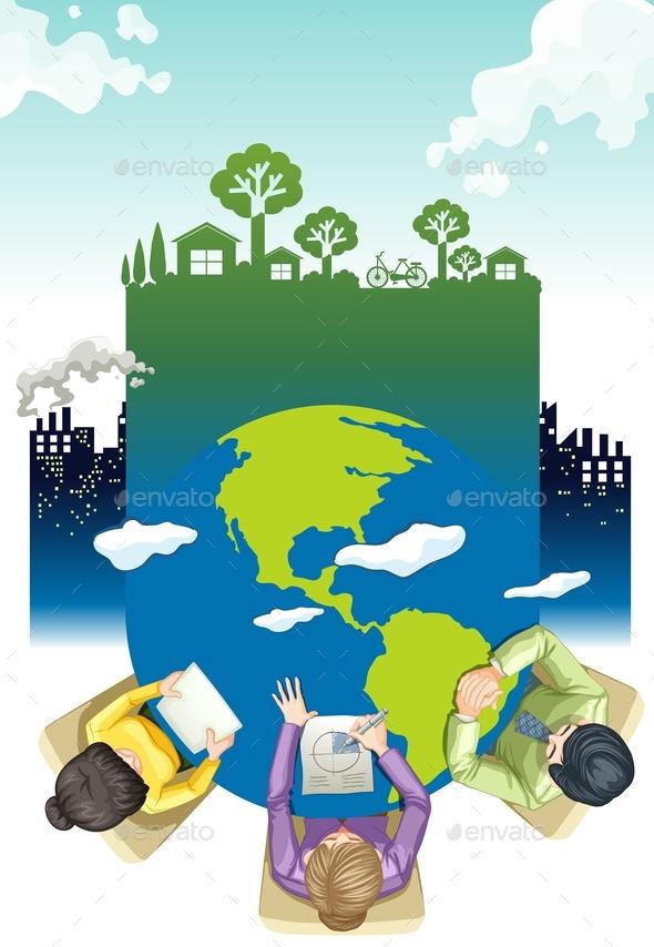 17 Contoh Poster Lingkungan dengan Desain Keren dan Menarik
