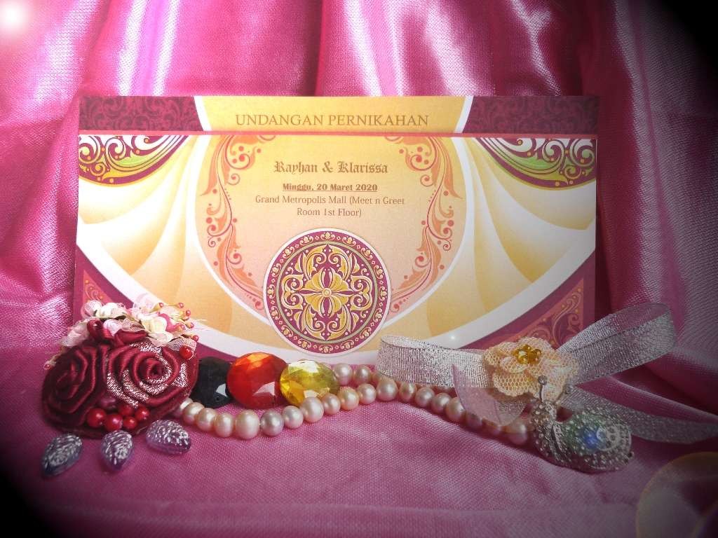 Undangan Pernikahan iCard Wedding Invitation