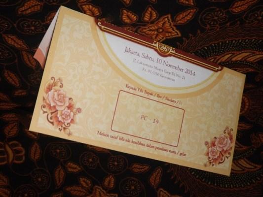 Undangan Pernikahan President Card Blangko dan Daftar Harga
