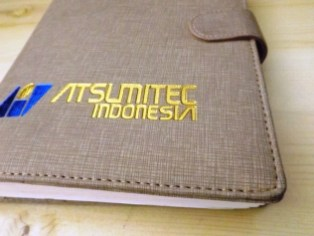 Buku Agenda Custom Design PT Atsumitec Indonesia