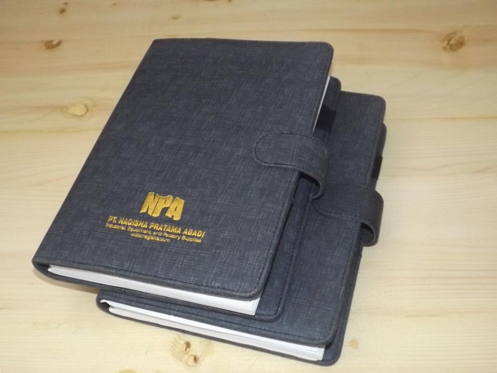 Buku Agenda Kustom Design PT Nagisha Pratama Abadi Cikarang