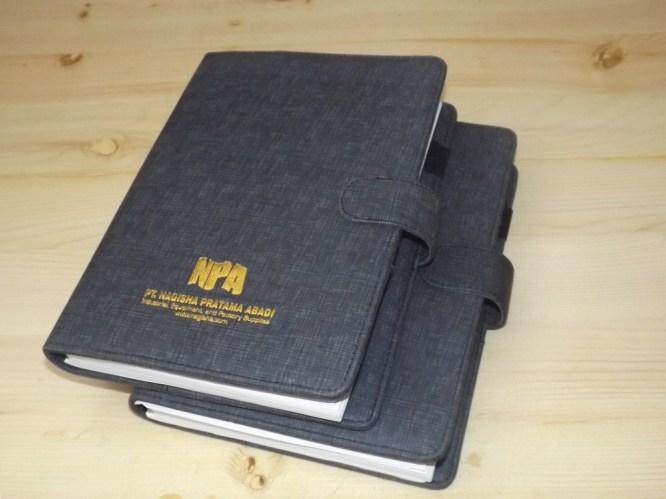 Buku Agenda Kustom Design