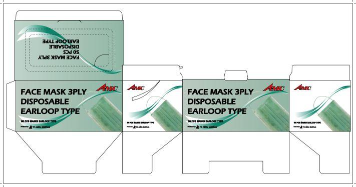 Contoh Kemasan Produk Masker Safety dan Daftar Harga
