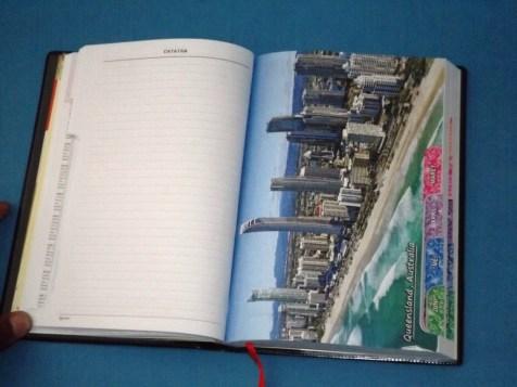 Buku Agenda Deluxe 2018 Memo Kerja Harian TH Diary