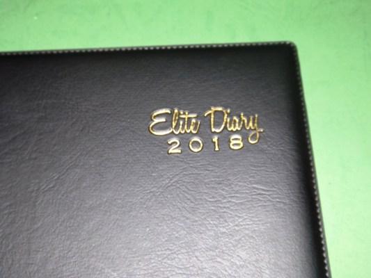 Buku Agenda Elite Diary 2018