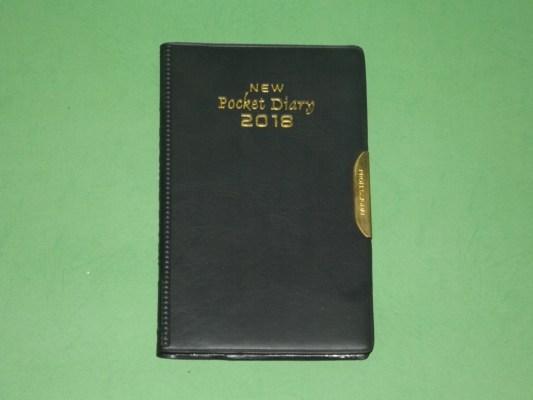 Buku agenda saku new pocket diary 2018