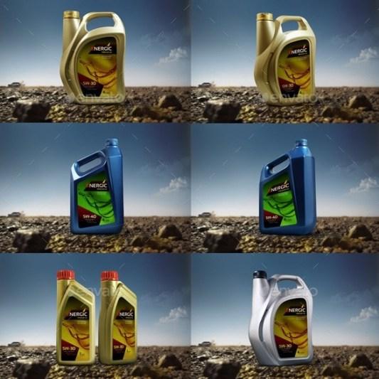 Contoh Desain Botol dan Label Merk