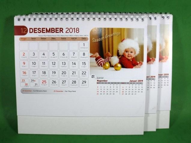Kalender Meja 2018 Bayi Buah Hati AO 921