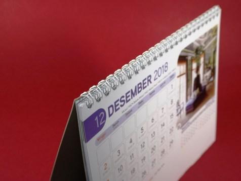 Kalender Meja 2018 Home Interior AO