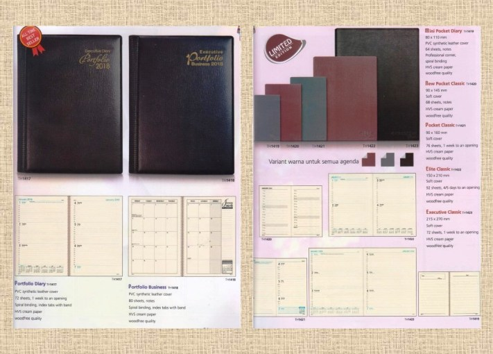 Start Your Day with TH Diary Think Organize 2018