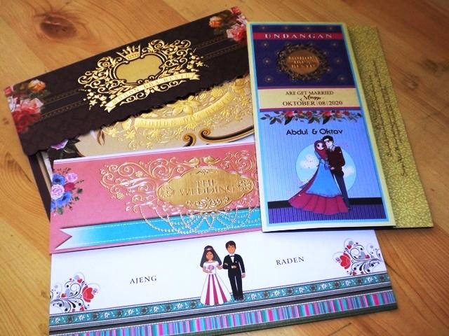 Undangan Pernikahan Nuvola Card Desain Cantik Terbaru Lebih Murah