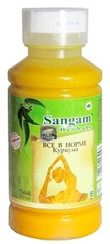 """Сок Куркумы """"Всё в норме"""" Sangam Herbals купить по цене ..."""