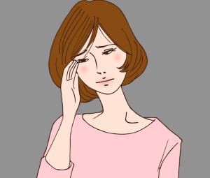 ピッタの不調の女性画像