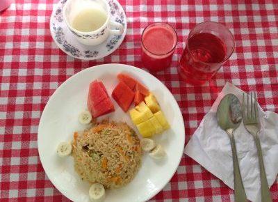 Mitra Hermitageの食事