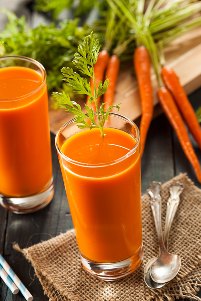 Organic Raw Carrot Juice Image source - https://www.flickr.com/photos/97092379@N04/14808652043/sizes/o/