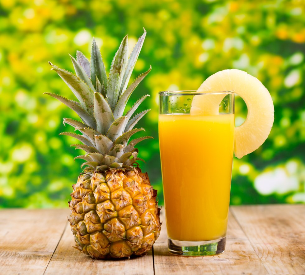 Pineapple Juice Image source -- https://www.flickr.com/photos/129892481@N02/16497358628/sizes/l