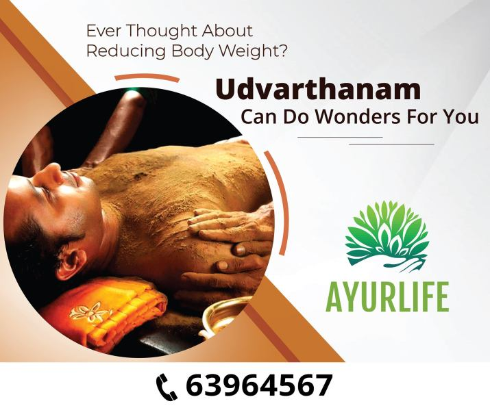 ayurvedic treatment for reducing weight