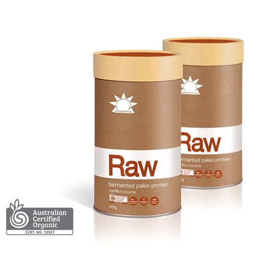 amazonia Raw fermented paleo protein - Vanilla & Lucuma