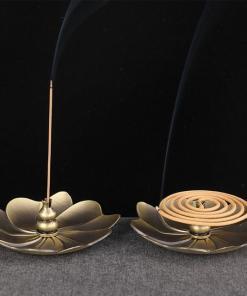 Porte encens en forme de fleur