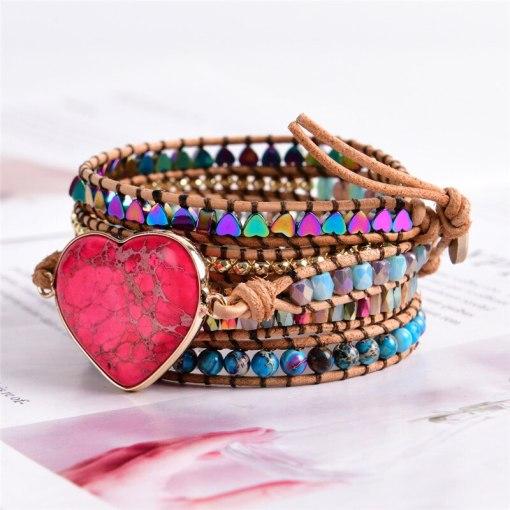 Bracelet romantique Bohème Chic