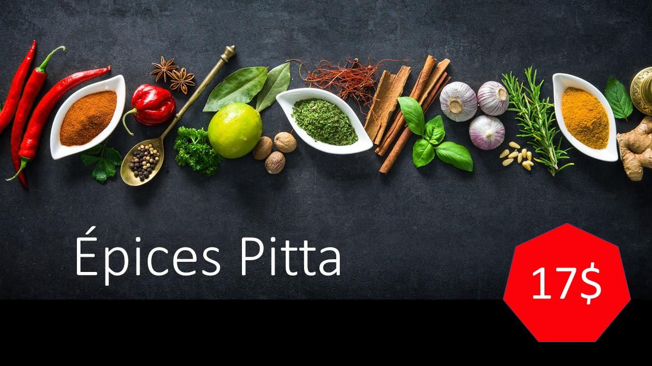 Épices Pitta