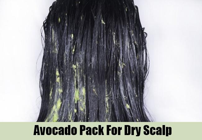 Avocado Pack For Dry Scalp