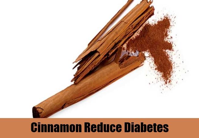 Cinnamon Reduce Diabetes