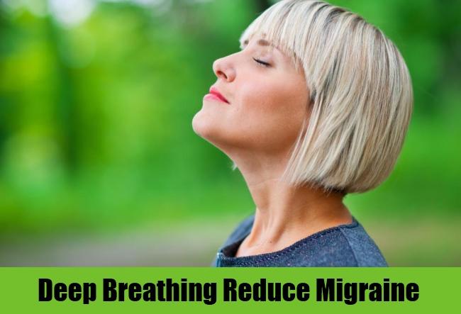 Deep Breathing Reduce Migraine
