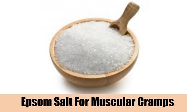 Epsom Salt For Muscular Cramps