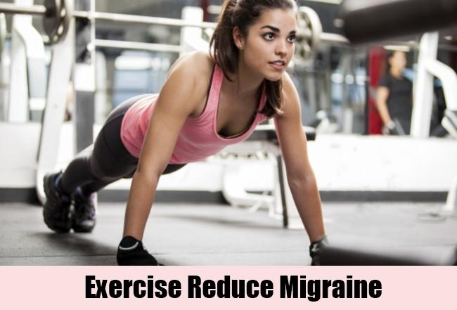 Exercise Reduce Migraine