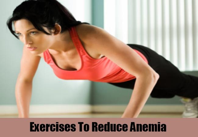 Exercises To Reduce Anemia